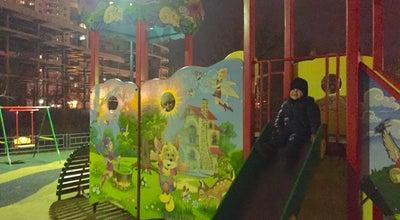 """Photo of Playground Детская площадка у """"Спарты"""" at Ул. Одоевского, 28, Санкт-Петербург, Russia"""