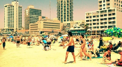 Photo of Beach Jerusalem Beach (חוף ירושלים) at Allenby St., Tel Aviv, Israel