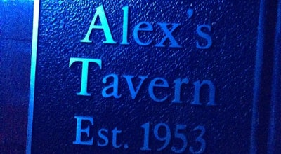 Photo of Burger Joint Alex's Tavern at 1445 Jackson Ave, Memphis, TN 38107, United States
