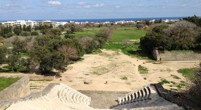 Photo of Historic Site Αρχαίο Στάδιο (Ancient Stadium) at Ακρόπολη Ρόδου, Ródos 851 33, Greece