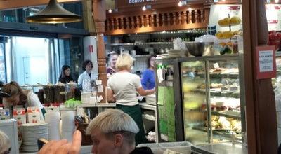 Photo of Cafe Robert's Coffee Östermalmshallen at Nybrogatan 31, Stockholm, Sweden