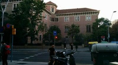 Photo of College Administrative Building Universidad de Barselona at Ronda De La Universitat, Spain