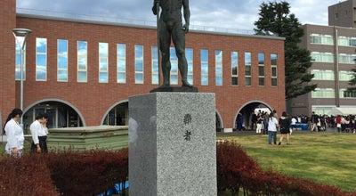 Photo of Monument / Landmark 覇者の像 at 文京2-1-1, 水戸市, Japan
