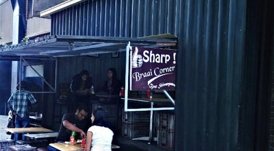 Photo of BBQ Joint Sharp! Braai Corner at The Maboneng Precinct, Johannesburg, South Africa
