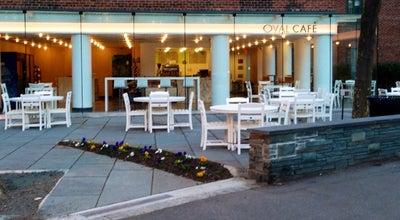 Photo of Cafe Oval Café at 5 Stuyvesant Oval, New York, NY 10009, United States
