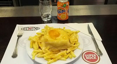 Photo of Portuguese Restaurant Café Santiago at R. Passos Manuel, 226, Porto 4000-382, Portugal