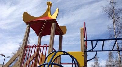 Photo of Playground Детская площадка at Ул. Мерецкова, Петрозаводск, Russia