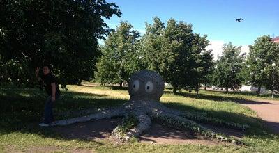 Photo of Outdoor Sculpture Осьминог at Ленинградский Просп., Vyborg, Russia