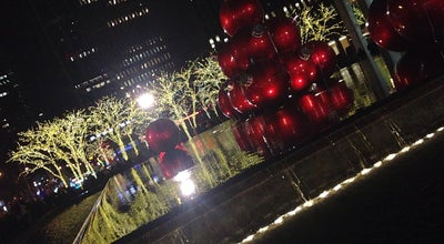 Photo of Plaza Waterfall @ 1221 Plaza at NY, United States