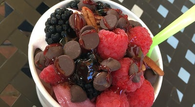 Photo of Frozen Yogurt Blueberry Frog at 624 S Main St, Greenville, SC 29601, United States