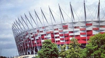 Photo of Soccer Stadium PGE Narodowy at Al. Księcia J. Poniatowskiego 1, Warszawa 03-901, Poland