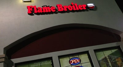 Photo of Asian Restaurant Flame Broiler at 8137 Sierra Ave, Fontana, CA 92335, United States