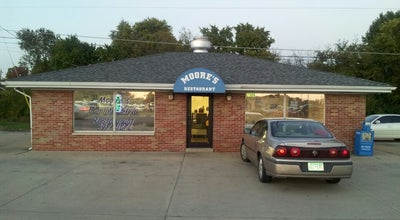 Photo of Diner Moore's Restaurant at 7309 Old Saint Louis Rd, Belleville, IL 62223, United States