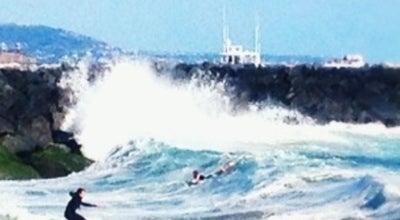 Photo of Surf Spot The Wedge at Balboa Peninsula, Newport Beach, CA 92661, United States