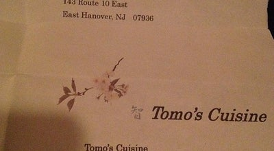 Photo of Japanese Restaurant Tomo's Cuisine at 143 State Route 10, East Hanover, NJ 07936, United States