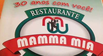 Photo of Italian Restaurant Mamma Mia at R. Odilon Salgado, 1-77, Varginha 37026-700, Brazil
