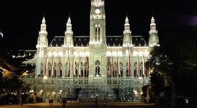 Photo of City Hall City Hall (Wiener Rathaus) at Rathausplatz 1, Wien 1010, Austria