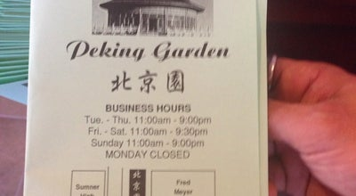 Photo of Chinese Restaurant Peking Garden at Valley Ave, Sumner, WA 98390, United States