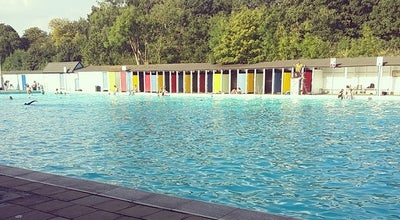 Photo of Pool Tooting Bec Lido at Tooting Bec Rd., Tooting SW16 1RU, United Kingdom