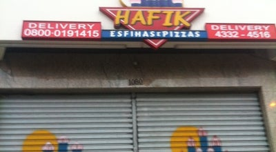 Photo of Pizza Place Pizzaria Hafik at Av. Francisco Prestes Maia, 1080, São Bernardo do Campo 09770-000, Brazil