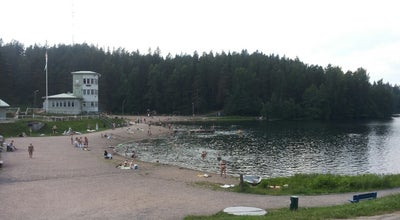 Photo of Beach Ahveniston uimaranta at Finland