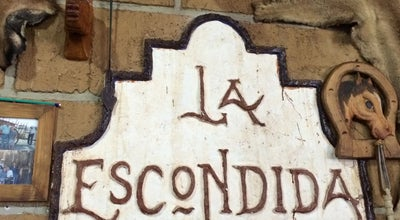 Photo of Mexican Restaurant Restaurante La Escondida at Mexico