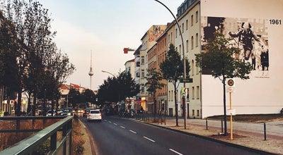 Photo of Trail Berliner Mauerweg | Bernauer Straße at Bernauer Str., Berlin 10437, Germany