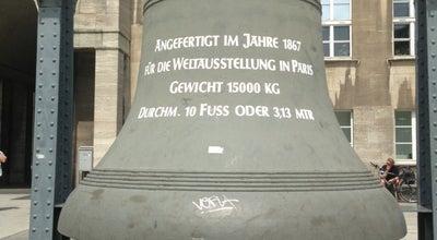 Photo of Historic Site Glocke auf dem Rathausvorplatz at Willy-brandt-platz, Bochum, Germany