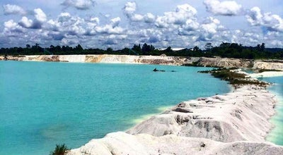 Photo of Lake Danau kaolin at Aik Raya, Belitong, Indonesia