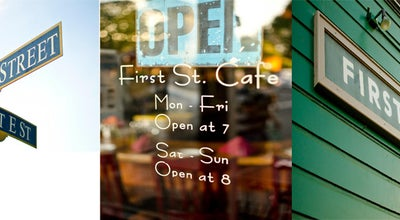 Photo of Cafe First Street Cafe at 440 1st St, Benicia, CA 94510, United States