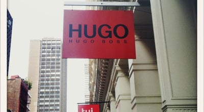 Photo of Clothing Store Hugo Boss at 132 Greene At Prince St, New York, NY 10012