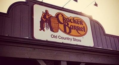 Photo of American Restaurant Cracker Barrel Old Country Store at 125 Village Cir, Bristol, VA 24201, United States