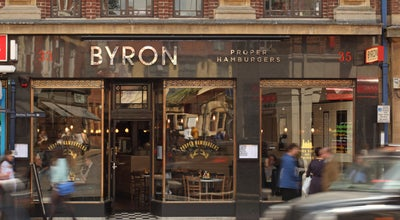 Photo of Burger Joint Byron at 33-35 George St, Oxford OX1 2AY, United Kingdom