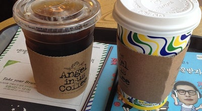 Photo of Coffee Shop 엔제리너스커피 (Angel-in-us Coffee) at 흥덕구 풍산로 14, 청주시 361-801, South Korea