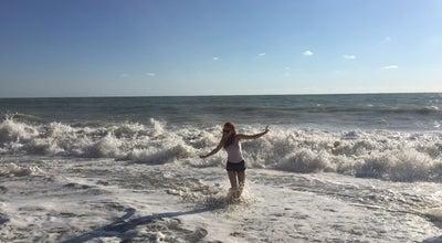 """Photo of Beach Набережная пляжа """"Дельфин"""" at П.лазаревская Г.сочи, Russia"""
