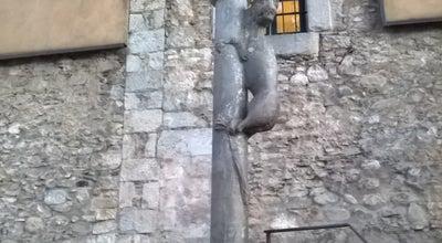 Photo of Outdoor Sculpture El cul de la lleona at C. Calderers, Girona, Spain