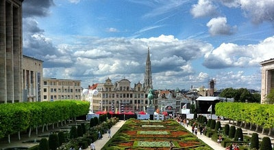 Photo of Scenic Lookout Kunstberg / Mont des Arts at Albertinaplein / Place De L'albertine, Brussels 1000, Belgium