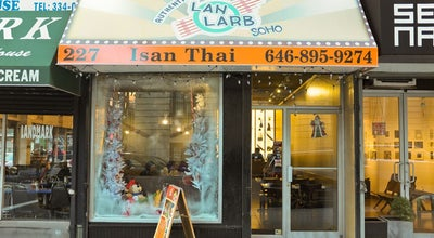 Photo of Thai Restaurant Lan Larb Soho at 227 Centre St, New York, NY 10013, United States