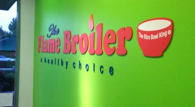 Photo of Asian Restaurant The Flame Broiler at 17595 Harvard Ave, Irvine, CA 92614, United States