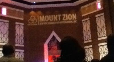 Photo of Church Mount Zion Baptist Church Inc at 1301 Alamance Church Rd, Greensboro, NC 27406, United States