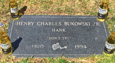 Photo of Historic Site H. Charles Bukowski's Grave at Rancho Palos Verdes, CA, United States