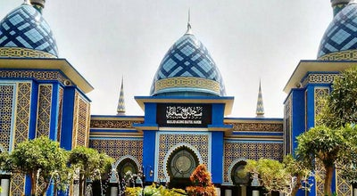 Photo of Mosque Masjid Agung Baitul Hakim at Alun-alun Barat, Madiun, Indonesia