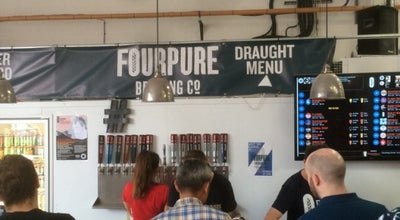 Photo of Brewery Fourpure Brewing Co. Tap Room at 22 Bermondsey Trading Estate, Bermondsey SE16 3LL, United Kingdom