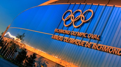 Photo of Gym / Fitness Center Richmond Olympic Oval at 6111 River Rd, Richmond, BC V7C 0A2, Canada