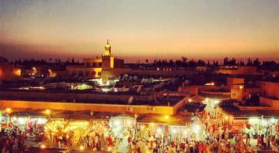 Photo of Plaza Place Jemaa el-Fna | ساحة جامع الفناء at Place Jemaa El-fna, Marrakech 40000, Morocco