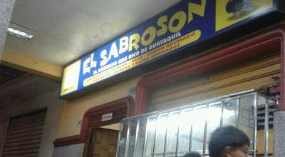 Photo of Sandwich Place El Sabrosón at Bolivia, Guayaquil, Ecuador