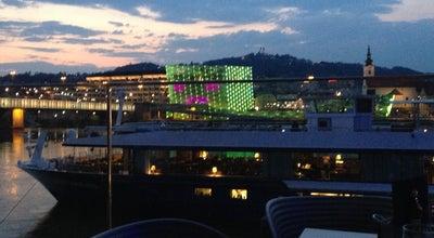 Photo of Cafe Lentos Cafe-Bar-Restaurant at Ernst-koref-promenade 1, Linz 4020, Austria