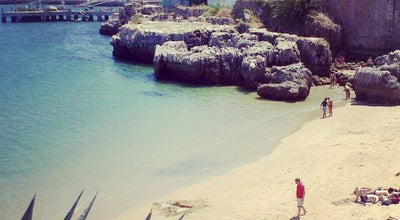 Photo of Beach Praia da Rainha at R. Frederico Arouca, Cascais 2750, Portugal