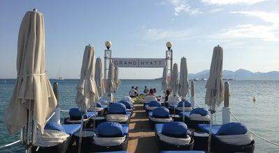 Photo of Beach ZPlage – Plage privée de l'Hôtel Martinez at Grand Hyatt Cannes Hôtel Martinez, Cannes 06400, France