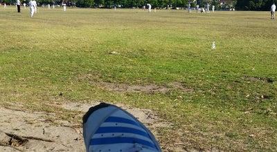 Photo of Field Moore Park Cricket Fields at Centennial Parklands, Moore Park, NS 2021, Australia